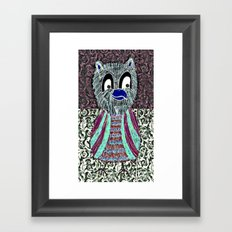 Paint the wall collection 19 Framed Art Print