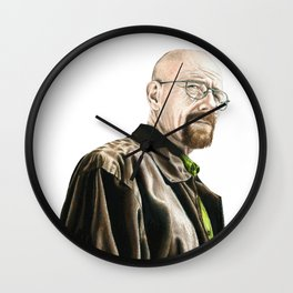 The One Who Knocks Wall Clock