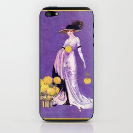 Vintage Lady from 1912 iPhone Skin
