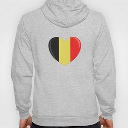 Heart Goes to Belgium Hoody