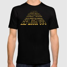 may the 4th be with you Mens Fitted Tee MEDIUM Black