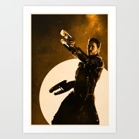starlord Art Prints featuring Starlord by Anton Lundin