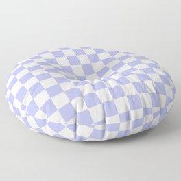 Gingham Soft Lavender Blush Checked Pattern Floor Pillow