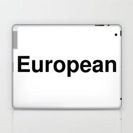 European Laptop & iPad Skin