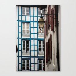 Basque architecture Canvas Print