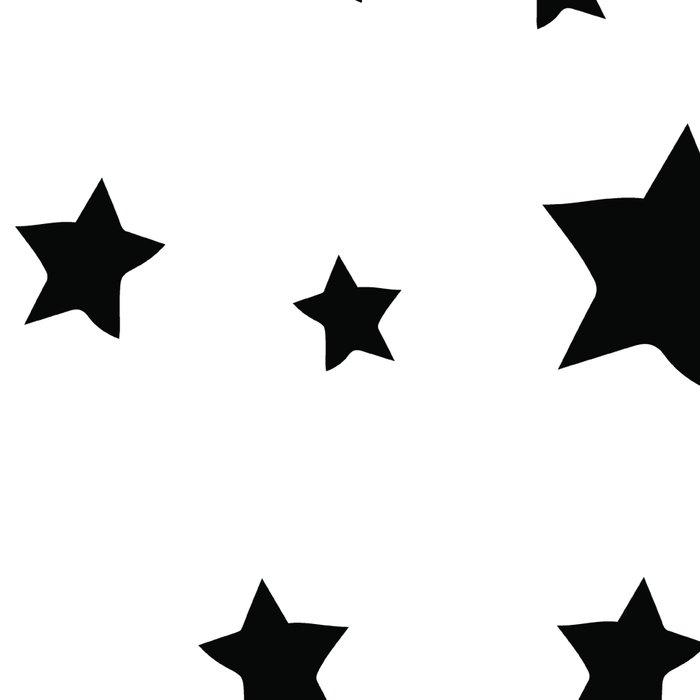 Black and White Stars Leggings