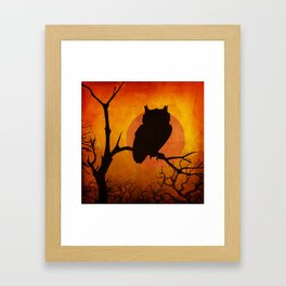 Halloween Is Coming Framed Art Print