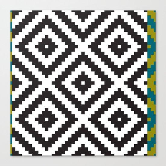 IKEA LAPPLJUNG RUTA Rug Pattern Canvas Print