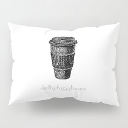 Coffee Doodle Pillow Sham