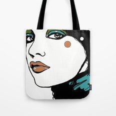 Green Eyeshadow  Tote Bag