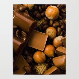 Chocolate and Nuts Poster