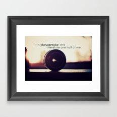 Photographer's Tool  Framed Art Print
