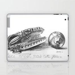 Ceci n'est pas un jeu by Jacques Lajeunesse Laptop & iPad Skin