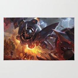 Lancer Rogue Blitzcrank League Of Legends Rug