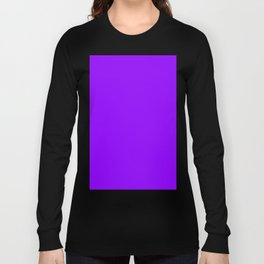 Electric Violet Long Sleeve T-shirt