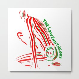 ATCQ - The Low End Theory Metal Print