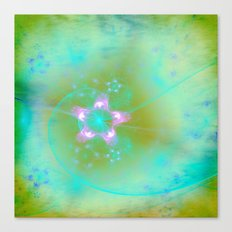 Magical Flowers Glow From Within Canvas Print