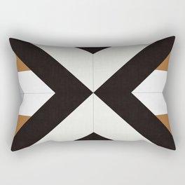 Geometric Art with Bands 12 Rectangular Pillow