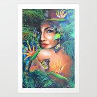 Revealing Art Print