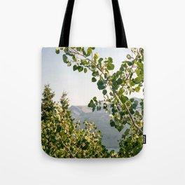 Aspen Leaves Tote Bag