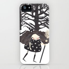 Lost Lily iPhone Case