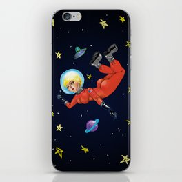Space Babe iPhone Skin
