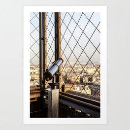 Distance All Around – Rundherum Ferne Art Print