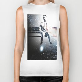 FORREST ON A BENCH & COSMOS Biker Tank