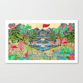 The Nightingale Series - 1 of 8 Canvas Print