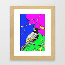 Bulbul Birdie (by Anjuri) Framed Art Print