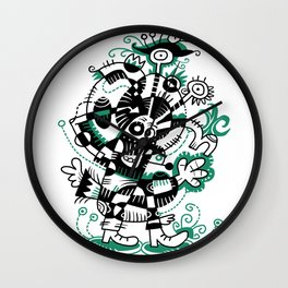 Aut'chose Wall Clock