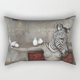 Le sacrifice de Gaia Rectangular Pillow