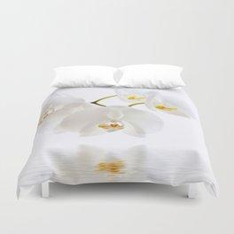 Orchid White 107 Duvet Cover