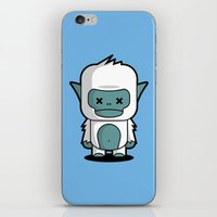 yeti iPhone & iPod Skins featuring Yeti by m. arief (mochawalk)