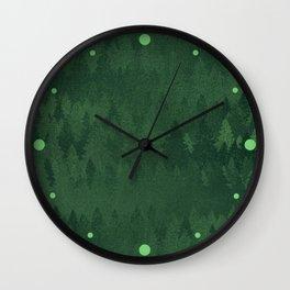TREE L/NE Wall Clock