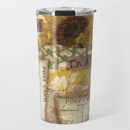Coffee is a Hug in a Mug Travel Mug
