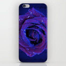 NOCTURNAL BLOSSOM iPhone Skin