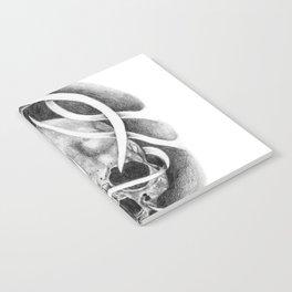 Swirly Skull Notebook