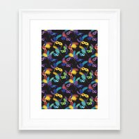 carnival Framed Art Prints featuring Carnival by kociara