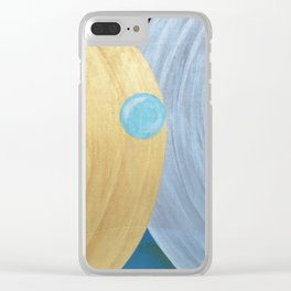 Meditation Visions. Clear iPhone Case
