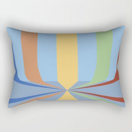 The Rainbow Room Rectangular Pillow