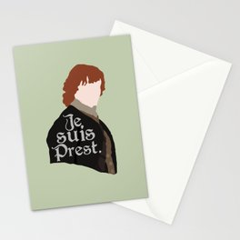 Jamie Fraser Quote Stationery Cards