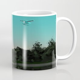 Flying over Minnesota Lakes Coffee Mug