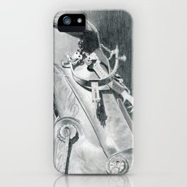 Hangin' Up the Spurs iPhone Case
