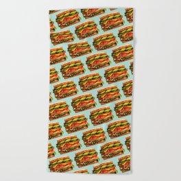 Sandwich Pattern - Turkey Beach Towel
