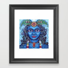 Krishna Framed Art Print
