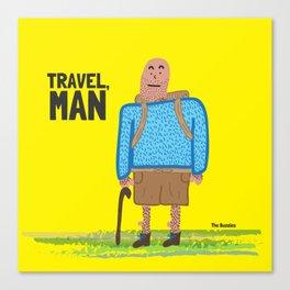 Travel, Man Canvas Print