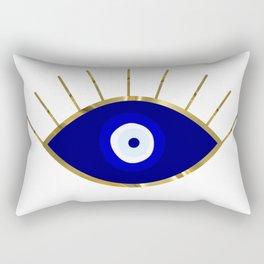 I See You Evil Eye Rectangular Pillow