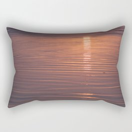 Sunset Sings Quietly Rectangular Pillow
