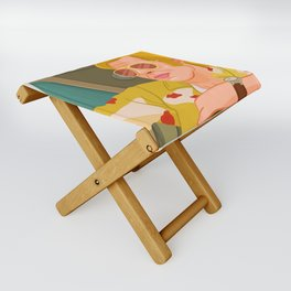 Once Upon A Time in Hollywood Cliff Booth Folding Stool